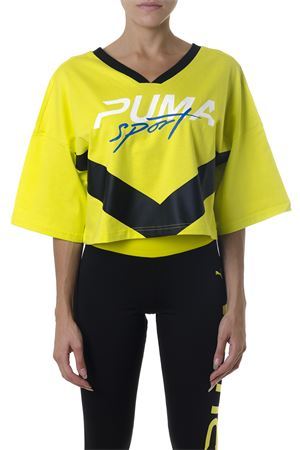 YELLOW XTREME V NECK T-SHIRT FW 2018  PUMA SELECT | 16 | 85329707XTREMESULPHUR