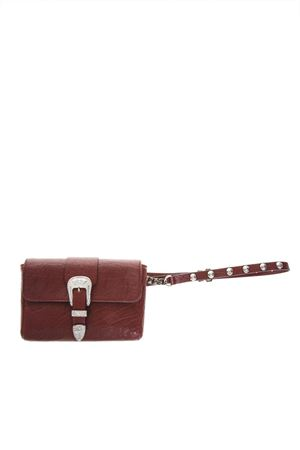 RED HAMMERED LEATHER BAG FW 2018 RED VALENTINO | 2 | QQ2B0B04BLEUNIW53