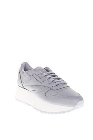 SNEAKERS DOUBLE IN PELLE GRIGIA AI 2018 REEBOK | 55 | CN5490CL LTHR DOUBLE1