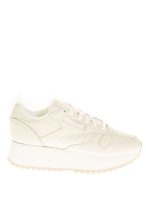 SNEAKERS DOUBLE IN PELLE BEIGE AI 2018 REEBOK | 55 | CN5491CL LTHR DOUBLE1
