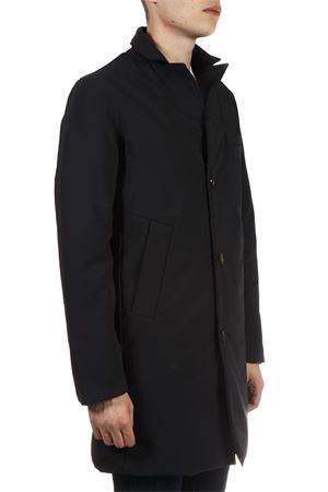 BLACK ELASTIC TECHNICAL FABRIC LINED PARKA FW 2018 RRD | 31 | W180061NERO