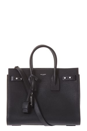 BORSA SAC DE JOUR SOUPLE IN PELLE NERA AI 2018/2019 SAINT LAURENT | 2 | 464960DTI0E1000
