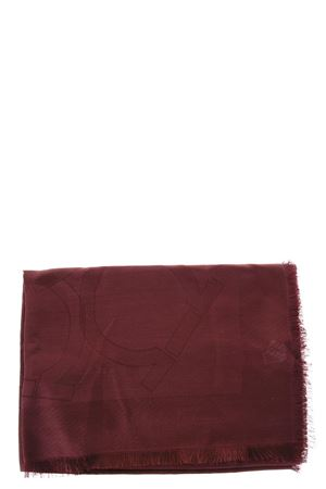 SILK-CASHMERE BLEND RED COLOR SCARF FW 2018/2019 SALVATORE FERRAGAMO | 20 | 326305ST GANBURGUNDY