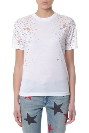 WHITE STARS MOTIFS T-SHIRT FW 2018 STELLA McCARTNEY | 15 | 342365SJW359000