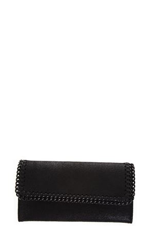 FALABELLA BLACK SHAGGY DEER WALLET FW 2018 STELLA McCARTNEY | 34 | 430999W81801000