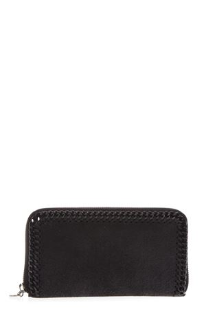 FALABELLA BLACK SHAGGY DEER WALLET FW 2018 STELLA McCARTNEY | 34 | 434750W81801000