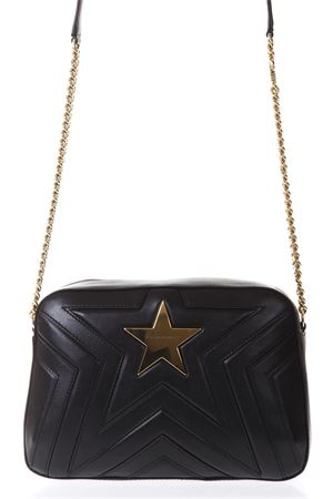 STAR BLACK FAUX LEATHER SHOULDER BAG FW 2018 STELLA McCARTNEY | 2 | 500992W82141000