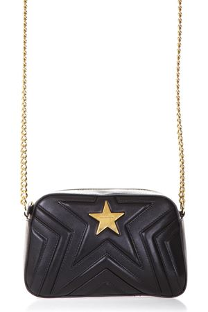 STAR BLACK FAUX LEATHER SHOULDER BAG FW 2018 STELLA McCARTNEY | 2 | 500993W82141000