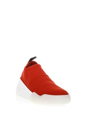 SNEAKERS LOOP IN NYLON ROSSO AI 2018 STELLA McCARTNEY | 55 | 534440W1IV16559