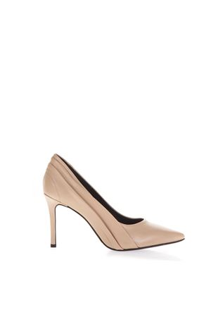NUDE SIDE NOTCHED PUMPS IN LEATHER FW 2018 STEPHEN GOOD LONDON | 68 | SG5019NAPPANUDE