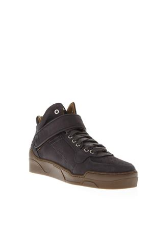 GREY SUEDE MID-TOP SNEAKERS FW 2018 THoMS NICOLL | 55 | 366NABUKFUMO
