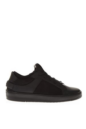 SNEAKERS LOW-TOP IN PELLE E NABUCK NERO AI 2018 THoMS NICOLL  7d3db23e566