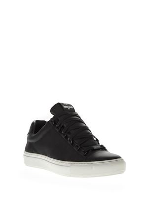 BLACK LEATHER SNEAKERS FW 2018 THoMS NICOLL | 55 | 463VITELLONERO