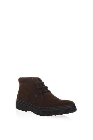 BROWN SUEDE DESERT BOOTS fw 2018 TOD