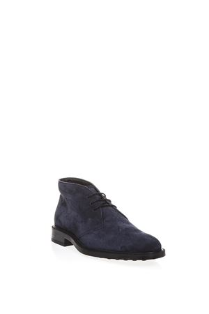 BLUE SUEDE DESERT BOOTS FW 2018 TOD