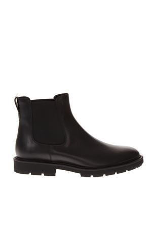 BLACK LEATHER ANKLE BOOT FW 2018 TOD