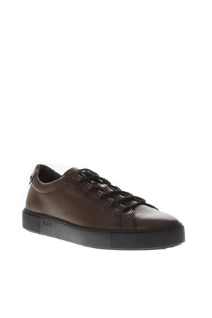 BROWN LEATHER LACED SNEAKERS FW 2018  TOD