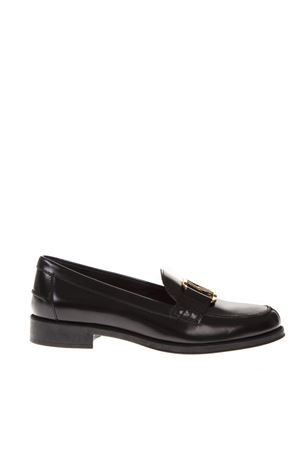 BLACK LEATHER LOAFERS FW 2018 TOD