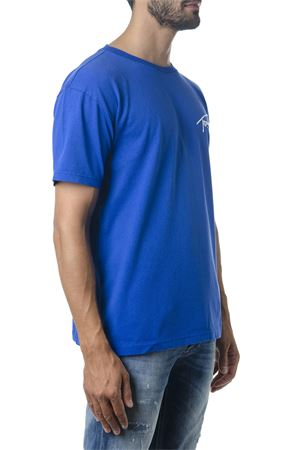 BLU COTTON T-SHIRT WITH TOMMY LOGO FW 2018 TOMMY JEANS | 15 | DM0DM056744191419