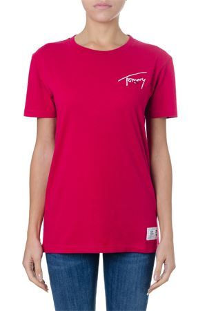 T-SHIRT ICONICA A GIROCOLLO AI 2018 TOMMY JEANS | 15 | DW0DW058026031603