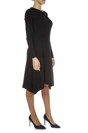 BLACK WOOL DRESS FW 2018 TORY BURCH   32   49703HALLE001