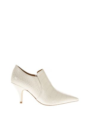 GEORGINA IVORY LEATHER ANKLE BOOTS FW 2018 TORY BURCH | 52 | 51436GEORGINA100