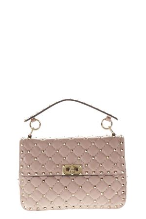 SPIKE NUDE QUILTED LEATHER BAG FW 2018 VALENTINO GARAVANI | 2 | QW0B0122NAPP45