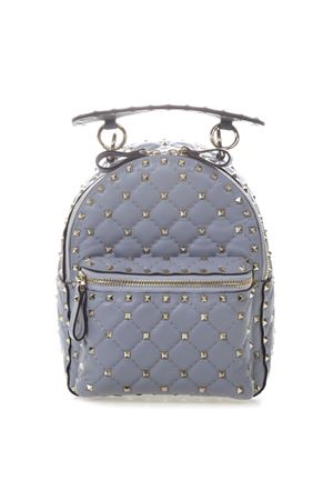 8e095ee4e743c LIGHT BLUE VALENTINO ROCKSTUD SPIKE MINI BACKPACK IN QUILTED LEATHER FW  2018 VALENTINO GARAVANI | 183 ...