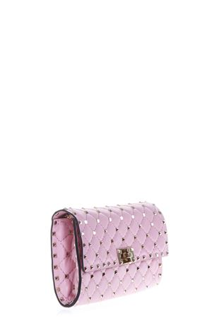 ROCKSTUD SPIKE ROSE LEATHER SHOULDER BAG FW 2018 VALENTINO GARAVANI | 2 | QW2B0137NAPCY4