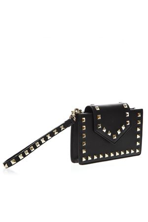BLACK ROCKSTUD PHONE CASE IN LEATHER FW 2018 VALENTINO GARAVANI | 2 | QW2P0Q13BOL0NO