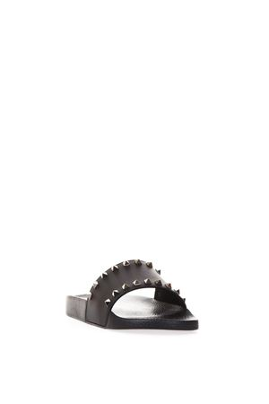 ROCKSTUD BLACK COLOR RUBBER SANDALS SS 2018 VALENTINO GARAVANI | 87 | QY2S0873JGC0NO