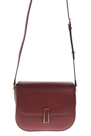 ISIDE BURGUNDY LEATHER SHOULDER STRAP FW 2018 VALEXTRA | 2 | V5E79L028000ZOC