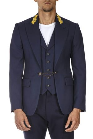 BLUE VIRGIN WOOL JACKET FW 2018 VIVIENNE WESTWOOD | 14 | S25BN0391S47883524