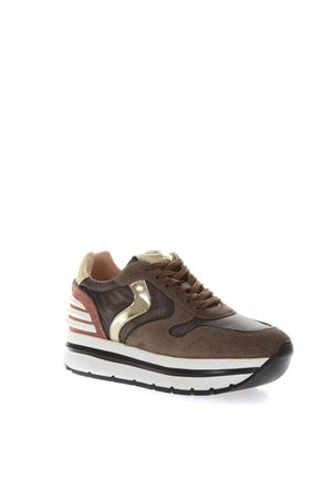 MAY HIGH BROWN SUEDE & NYLON SNEAKERS FW 2018 VOILE BLANCHE | 55 | MAY001-2012888-02TALPA/MARRONE/ROSA