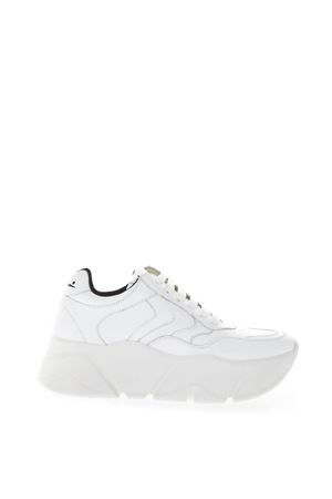 MONSTER WHITE LEATHER SNEAKER FW 2018 VOILE BLANCHE | 55 | MONSTER001-2013134-01BIANCO