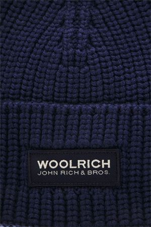 DARK BLUE WOOL HAT FW 2018 WOOLRICH | 17 | W0ACC1532AC223667