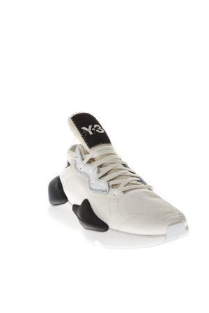 WHITE Y_3 KAIWA SNEAKERS IN LEATHER FW 2018 Y-3 | 55 | BC0907KAIWAWHITE