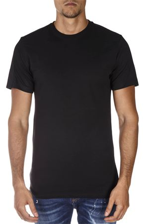 YES LONDON BLACK COTTON T-SHIRT FW 2018 YES LONDON | 15 | XM37251NERO