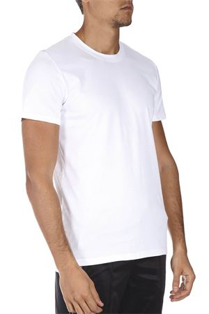YL WHITE COTTON T-SHIRT FW 2018 YES LONDON | 15 | XM37301BIANCO