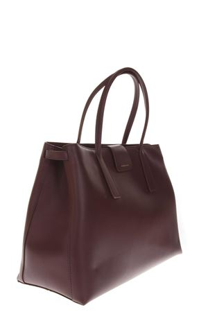 DUO METROPOLITAN CHERRY LEATHER TOTE FW 2018 ZANELLATO | 2 | ZA36PL063924273BORDO FALUN