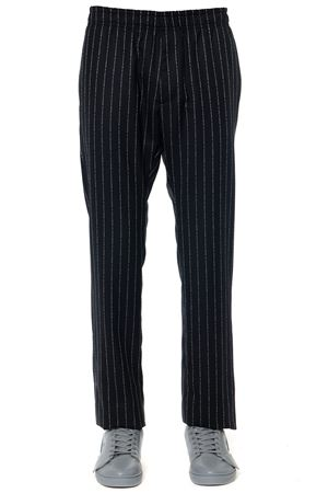 BLACK WOOL-CASHMERE BLEND TROUSERS FW 2019 1017 ALYX 9SM | 8 | AAMPA0013FA021BLACK