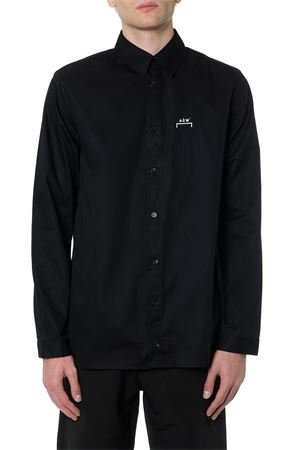 BLACK COTTON SHIRT WITH LOGO PRINT FW 2019 A-COLD-WALL | 9 | SC01BLK1BLACK