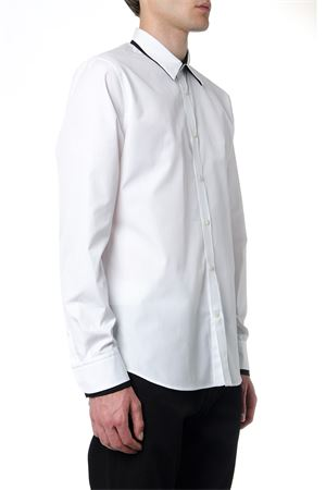 WHITE COTTON SHIRT FW 2019 ALEXANDER McQUEEN | 9 | 567289QNN669000