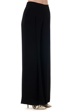 BLACK DEEP PLEAT TROUSERS AI 2019 McQ ALEXANDER MCQUEEN | 8 | 567364RNF111000