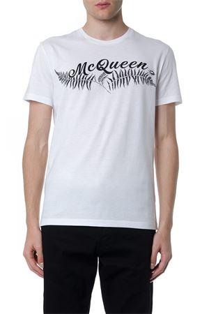 MC QUEEN WHITE COTTON T-SHIRT FW 2019 ALEXANDER McQUEEN   15   573587QNZ950900