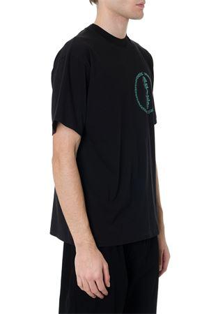 BLACK COTTON T-SHIRT FW 2019 ARIES | 15 | FQAR60018142643003