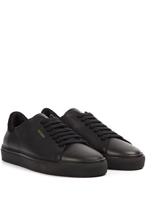 CLEAN 90 BLACK LEATHER LOW-TOP SNEAKERS FW 2019 AXEL ARIGATO | 55 | 28116CLEAN 90BLACK
