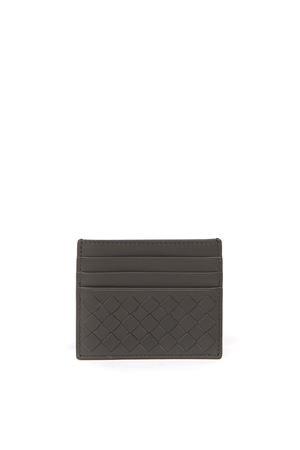 GREY LEATHER CLASSIC CARDHOLDER FW 2019 BOTTEGA VENETA | 44 | 162150V001D8522