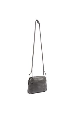 GREY LEATHER SHOULDER BAG WITH INTRECCIATO DESIGN FW 2019 BOTTEGA VENETA | 2 | 245354V00168582