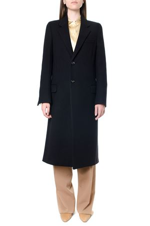 BLACK WOOL SINGLE BREASTED COAT FW 2019 BOTTEGA VENETA | 31 | 576656VF3421092